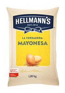 Mayonesa Hellmann's 1.88KG - Mayonesa Hellmann's, el sabor irresistible de Hellmann´s contiene huevos de campo y nuestros mejores aceites