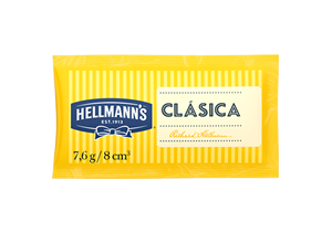 Mayonesa Hellmann's 7.4g (x CAJA 528u) - El mejor formato para tu sandwich