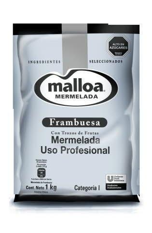 Mermelada Frambuesa Malloa 1KG -
