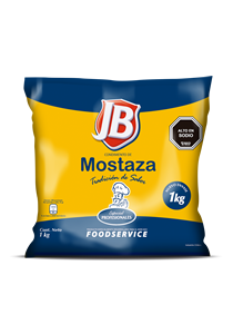 Mostaza JB 1KG - Mostaza JB, el sabor de Chile!