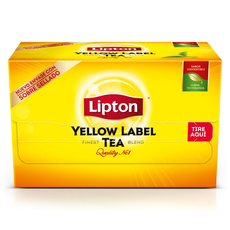 Yellow Label Lipton 20 BLS - Lipton, la marca n°1 de Té en el mundo!